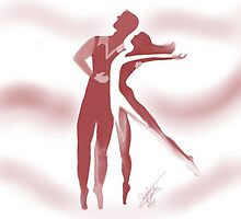 Dancing Lovers by Kaboodle's Kreations