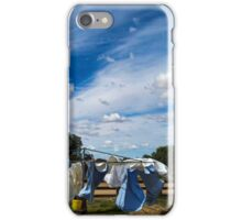 Drying the Clothes - Tibooburra iPhone Case/Skin