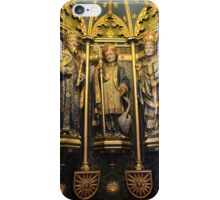 Inside the Font Cover At ST. Wulframs Church, Grantham iPhone Case/Skin