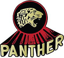 Panther Motorcycle Logo Photographic Print