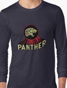 Panther Motorcycle Logo Long Sleeve T-Shirt