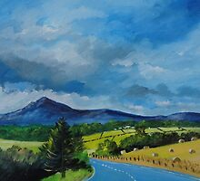 Bennachie from the Tyrebagger by ALICE STUART