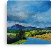 Bennachie from the Tyrebagger Canvas Print