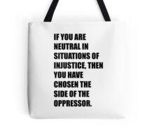 Desmond Tutu Tote Bag