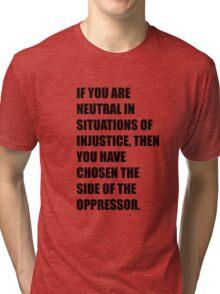 Desmond Tutu Tri-blend T-Shirt