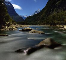 Night Time Photography, Milford Sound by Michael Treloar