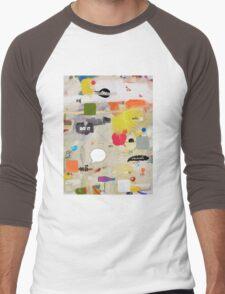 messages 012 Men's Baseball ¾ T-Shirt