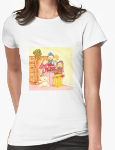 Teddy and Toys Womens Fitted T-Shirt