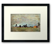 """""""Some Winters Ago..."""" Framed Print"""