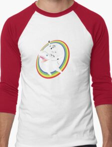 Narwhal Rainbow Stormtrooper Men's Baseball ¾ T-Shirt