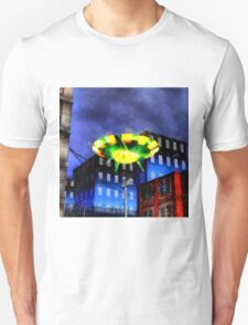 UFO In Your City by Raphael Terra T-Shirt