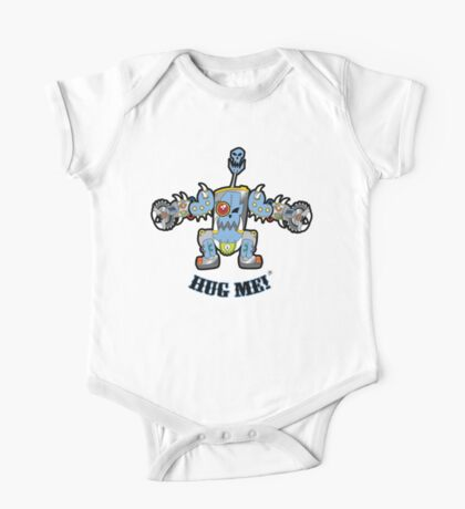 Baby Buzz'head Blue One Piece - Short Sleeve
