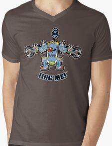 Baby Buzz'head Blue Mens V-Neck T-Shirt