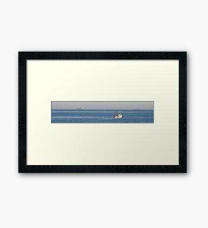 Ship Ahoy! Framed Print