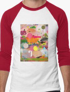 messages 013 Men's Baseball ¾ T-Shirt