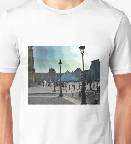 The Louvre In Paris Unisex T-Shirt