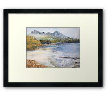 Croagh Patrick. Framed Print