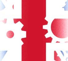 Steampunk UK Sticker