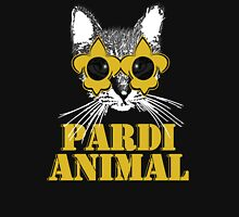 Black and Gold Pardi Animal (Without the crown) Unisex T-Shirt