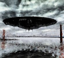 San Fransisco Invasion by Raphael Terra by esotericaart