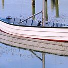 Little wooden boat by Ali Brown