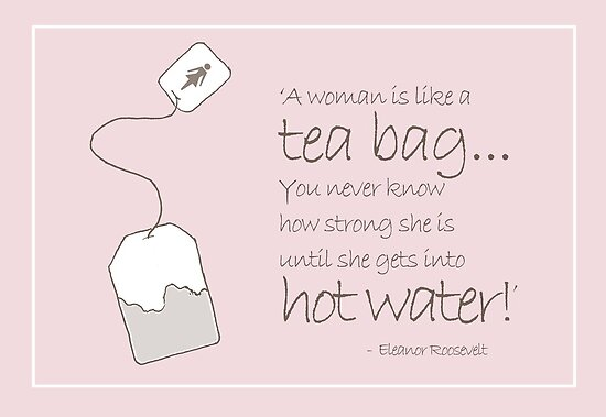 Hot Water and a Tea Bag by FineEtch