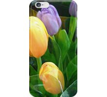 Gorgeous Tulips at the Market iPhone Case/Skin