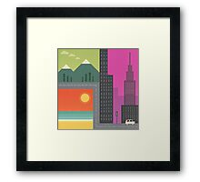 Road Trippin Framed Print