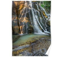 Lower Bell's Canyon Waterfall Poster