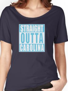 Straight Outta North Carolina Women's Relaxed Fit T-Shirt