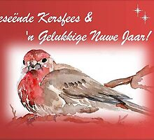'n (Rooi) Geseënde Kersfees!   A Merry (Red) Christmas! by Maree  Clarkson