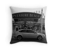 skegness,lincolnshire Throw Pillow