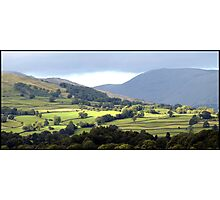 Lush Green Landscapes at Ambleside Photographic Print