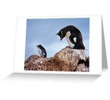 Rockhoppers Greeting Card