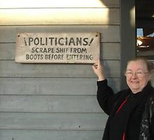 Message to Politicians  by Leyla Hur