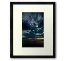 When 2007 was almost gone Framed Print