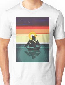 The Black Vector | Pirate Ship Unisex T-Shirt