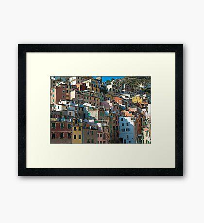 Rio Maggiore, Cinque Terre Framed Print
