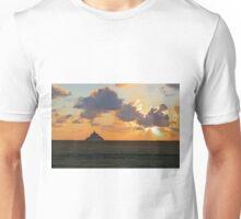 Mont St Michel Sunset Unisex T-Shirt