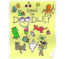 Dare to Doodle? Poster