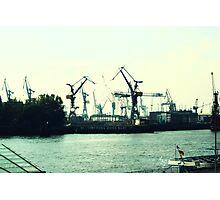 Hamburg - Docks Photographic Print