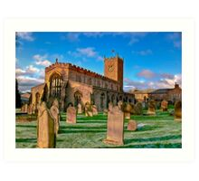 St Oswald's Church - Asgrigg  (HDR) Art Print