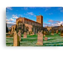 St Oswald's Church - Asgrigg  (HDR) Canvas Print