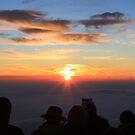 Goraiko - Sunrise on Mt Fuji San by Melor