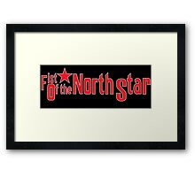 Fist of the North Star Framed Print