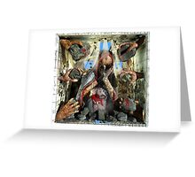 "Ecce Homo 102 ""STONES"" Greeting Card"