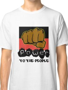 Power to the People [-0-] Classic T-Shirt