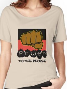Power to the People [-0-] Women's Relaxed Fit T-Shirt