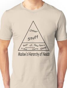Maslow's Hierarchy of Needs T-Shirt