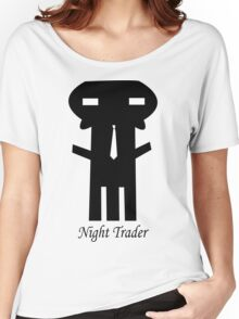 NIGHT TRADER Women's Relaxed Fit T-Shirt